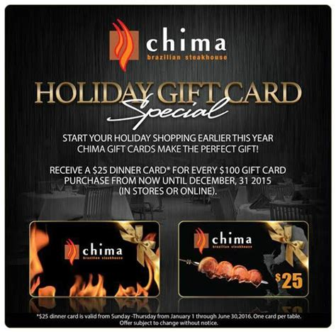 Chima Gift Card - 10 images about specials on pinterest gourmet salad be ready and this sunday