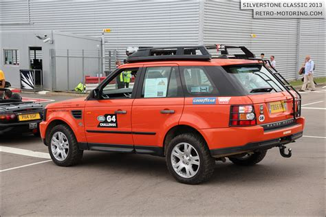 orange range rover sport orange range rover sport g4 challenge at the silverstone