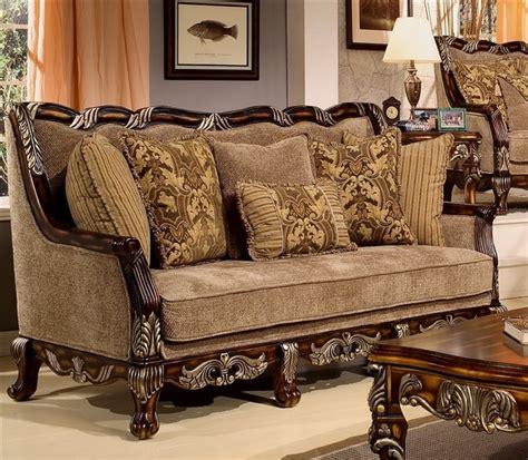 traditional sofa designs homey design coria sofa hd 4825 s traditional