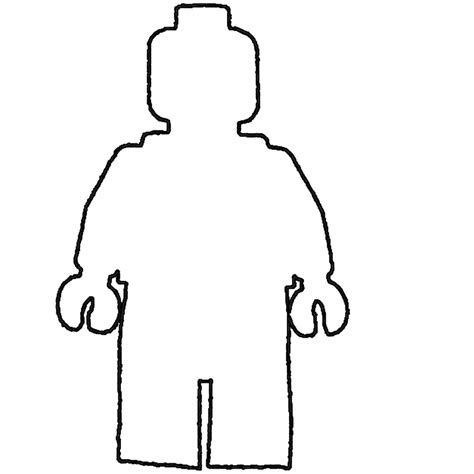 person template person outline printable cliparts co