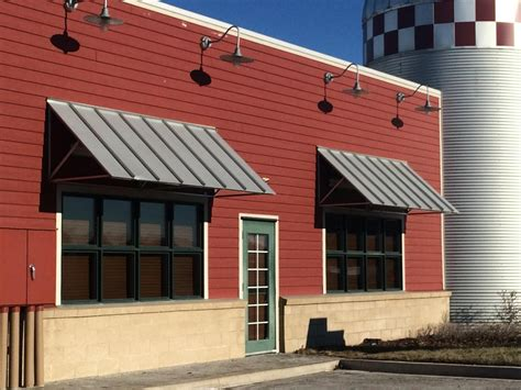 industrial awnings commercial awnings kansas city tent awning metal
