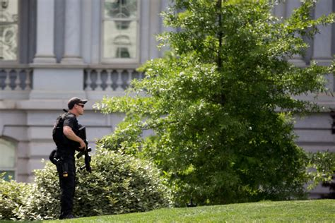 shooting at white house official armed person shot by secret service outside white house the columbian