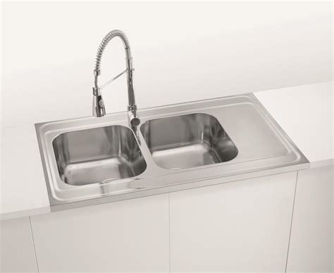 Alveus Sinks by 1000mm Lay On Sit On Kitchen Sink Bowls