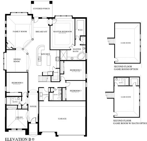 plan 506b saratoga homes