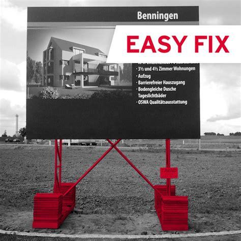 Baustellenschild Notwendig by Bauschilder Mieten Oder Kaufen Trend Werbesysteme