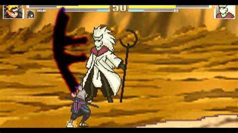 mod game naruto mugen naruto dual ninja mugen youtube
