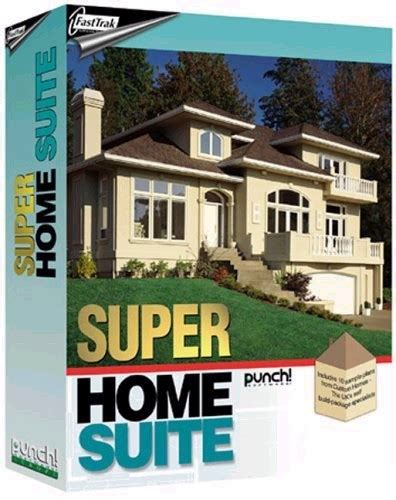punch software professional home design suite fasttrak punch super home design suite fasttrak software