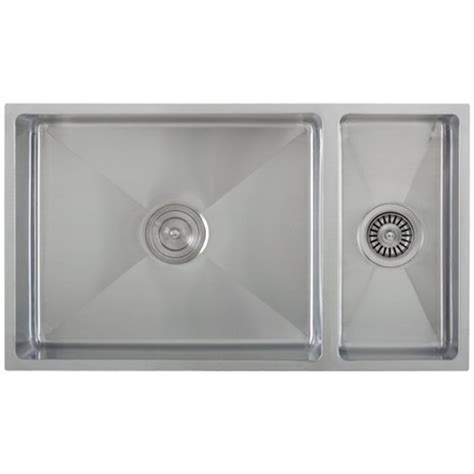 Ticor S6512 Undermount 16 G Tight Radius Stainless Steel Ticor Kitchen Sinks