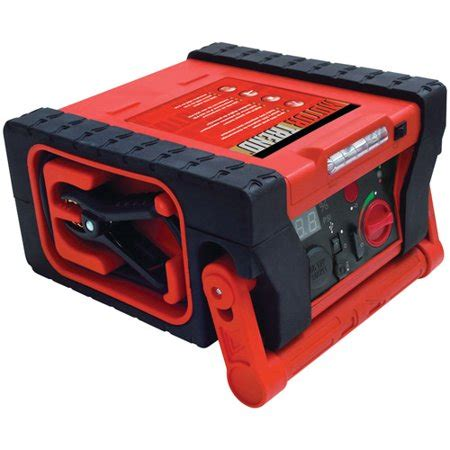 motor trend jsm 0580 compact jump starter with 260 psi compressor walmart