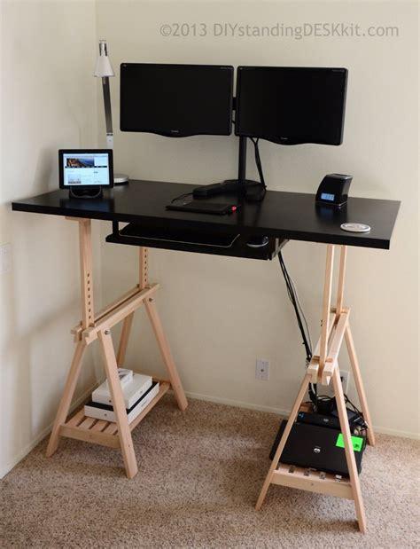 diy adjustable standing desk diy standing desk kit the adjustable hight standing desk