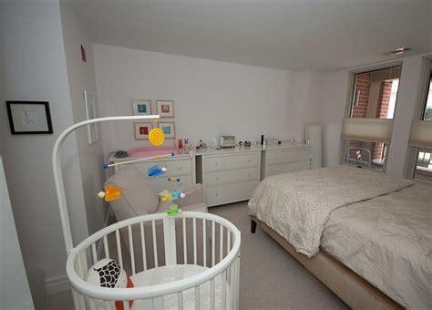 One Bedroom Apartment With Baby Decorating Ideas Cantinho Do Beb 234 No Quarto Dos Pais Bagagem De