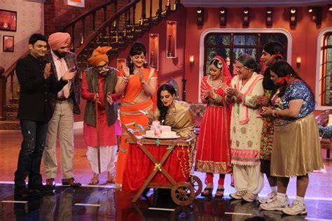 rekha super nani comedy nights with kapil rekha promotes super nani