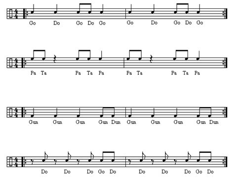 drum rhythms online multi part rhythm 1