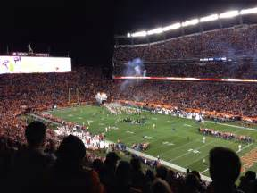 section 4 sports sports authority field section 330 row 17 seat 4 denver