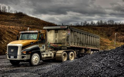 de trucks caterpillar truck wallpaper imgkid com the image