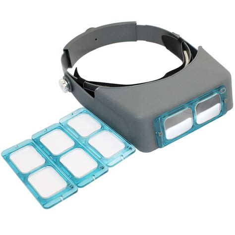 New Lens Mounted Headband Reading Magnifier Wearing adjustable lens headband reading magnifier