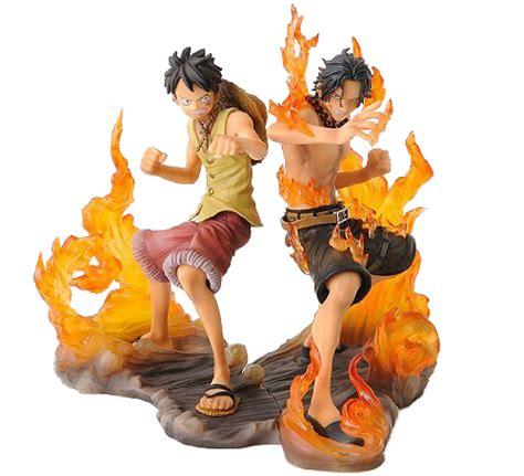 Raglan Anime Series Luffy 03 ace e luffy one figure