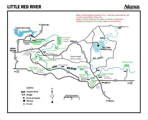 arkansas trout fishing maps pictures the ozark angler