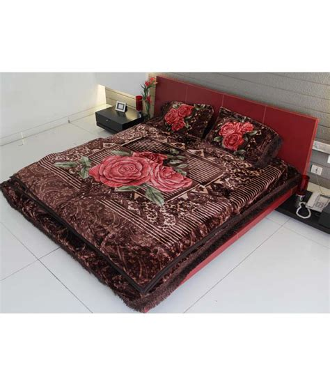 Bed Blanket Size by Youngman 4 Pcs Set 1 Mink Blanket Bed Size 1 Bed