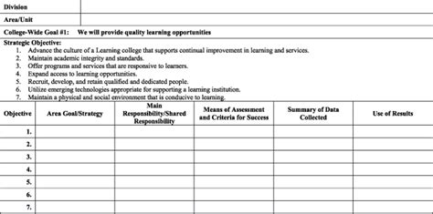 operation plan template operational plan template plan template