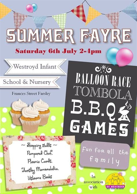 Poster For Summer Fayre Done In Serif Draw Plus Stuff Pta Happenings Pinterest Best Summer Poster Template