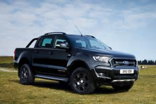 limited ford ranger black edition up truck revealed