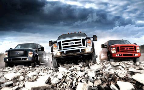 Download ford pickup trucks lineup wallpaper at 1920 x 1200 resolution