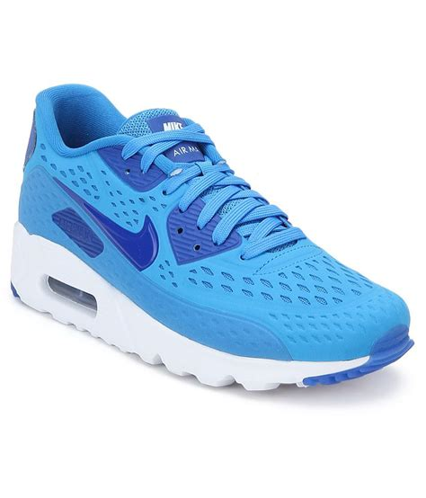 nike air max sports shoes nike air max 90 ultra blue sports shoes price in india