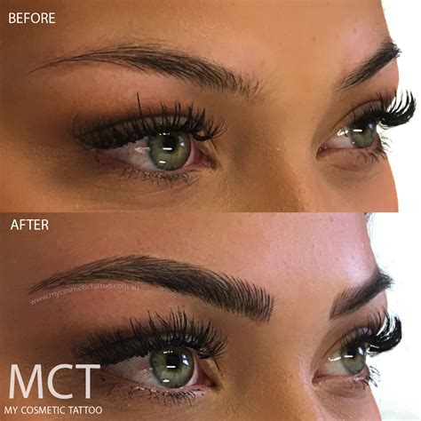 3d tattoo eyebrows eyebrow feathering my cosmetic
