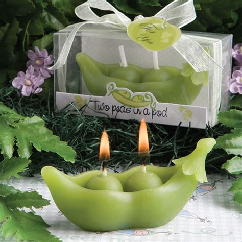 two peas in a pod centerpieces two peas in a pod collection candles