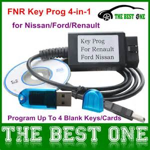 Renault Key Programming Aliexpress Buy Fnr Key Prog 4 In 1 With Dongle Works