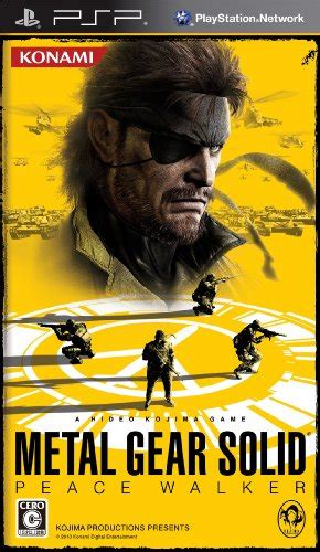 Po Import Console Psp Metal Gear Solid Peace Walker Premium metal gear solid peace walker japan iso