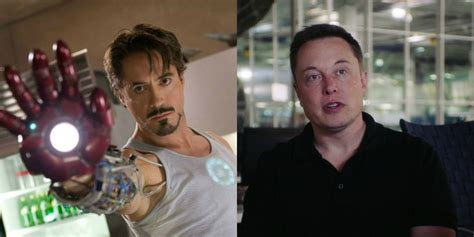 elon musk tony stark tv and movie news 15 superheroes and villains who were