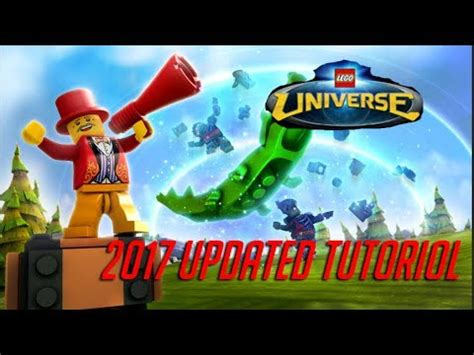 lego universe tutorial how to play lego universe in 2017 luni server updated