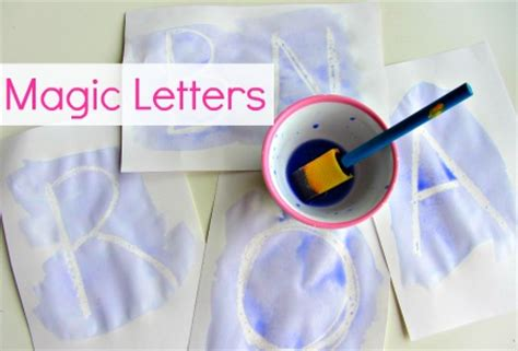 magic crafts for alphabet for starters magic letters no time for flash
