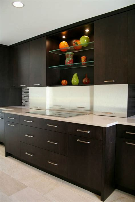 espresso kitchen cabinets in 9 sleek and premium style homeideasblog com 17 best images about sleek modern kitchens from crystal on
