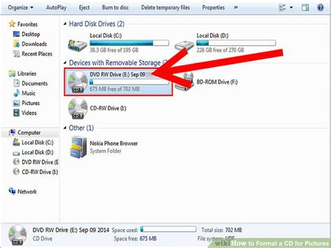 format my cd how to format a cd for pictures 7 steps with pictures