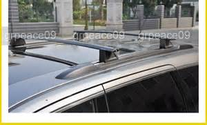 cross bar roof rack cargo luggage black for 2011 2014 jeep