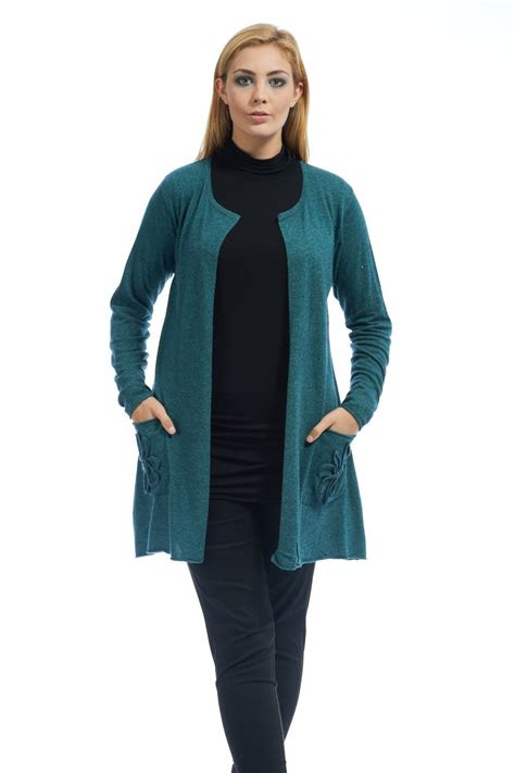 Dress Denim Cardigan Ka13215 soft and sumptuous cardigan from masai clothing perfet for layering your masai this