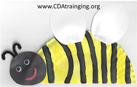 Bumble Bee Paper Plate Craft - bumble bee paper plate craft 28 images beg borrow bees
