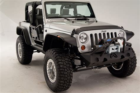 2008 Jeep Wrangler Front Bumper Fab Fours 174 Jeep Wrangler 2008 Stubby Front