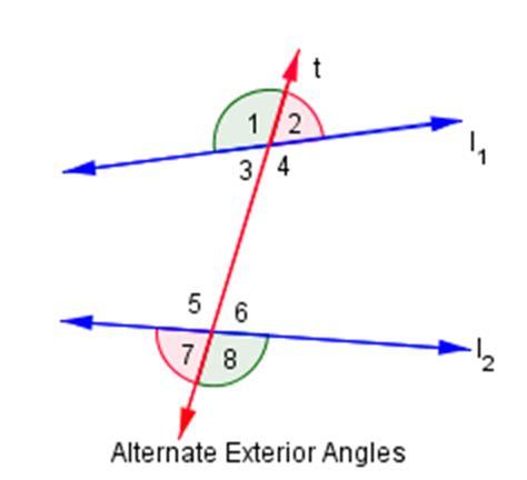 Alternate Interior And Exterior Angles alternate exterior angles mathcaptain