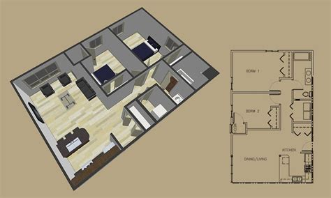 How Many Square Is A 2 Bedroom Apartment by 2 Bedroom Apartment Floor Plans 2 Bedroom Apartments Winona