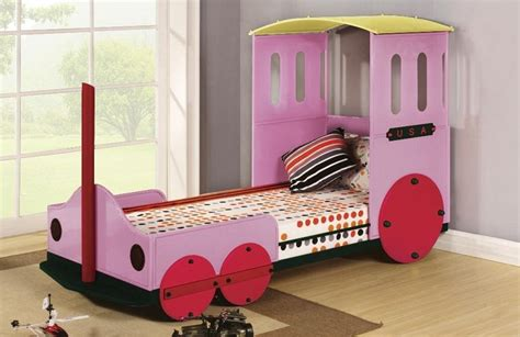 train twin bed twin bed train design pink