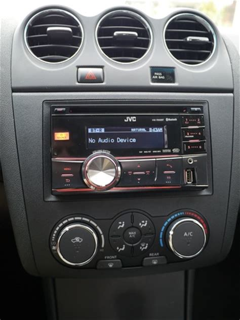 nissan altima 2007 2011 factory stereo to aftermarket