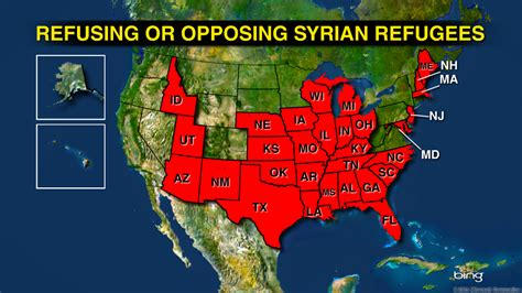 map of us states not accepting syrian refugees some states wont accept syrian refugees american grit