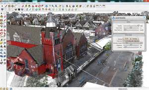 Home Design Autodesk by Laser Scans In Google Sketchup In The Scanin The Scan