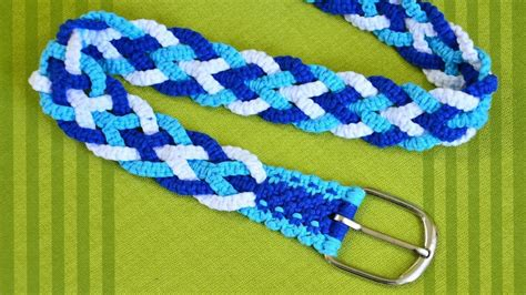 How To Make Macrame - how to make a macrame belt 171 sewing embroidery