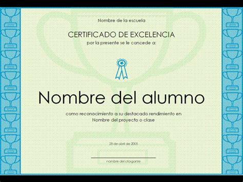 como descargar sertifidos en microsoft gratis descargar certificado a la excelencia estudiantil