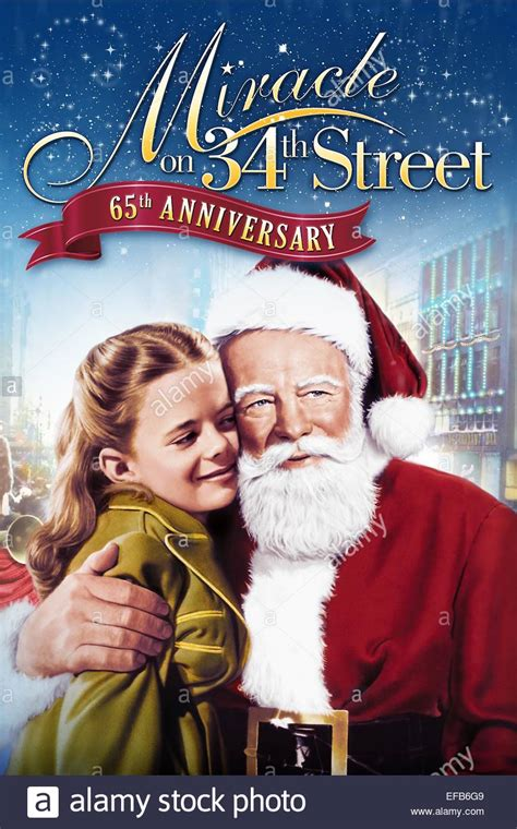 Miracle On 34th Free 1947 Poster Miracle On 34th 1947 Stock Photo Royalty Free Image 78307945 Alamy